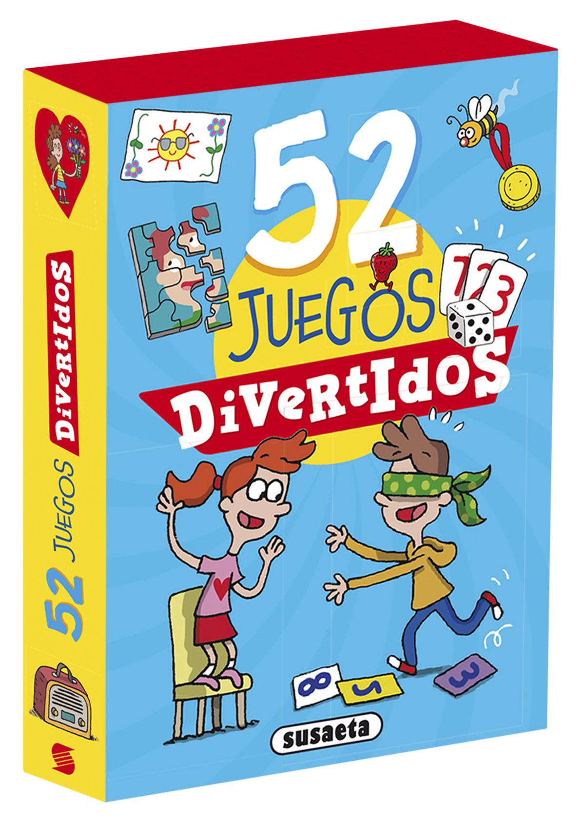 52 juegos divertidos 9788467770292