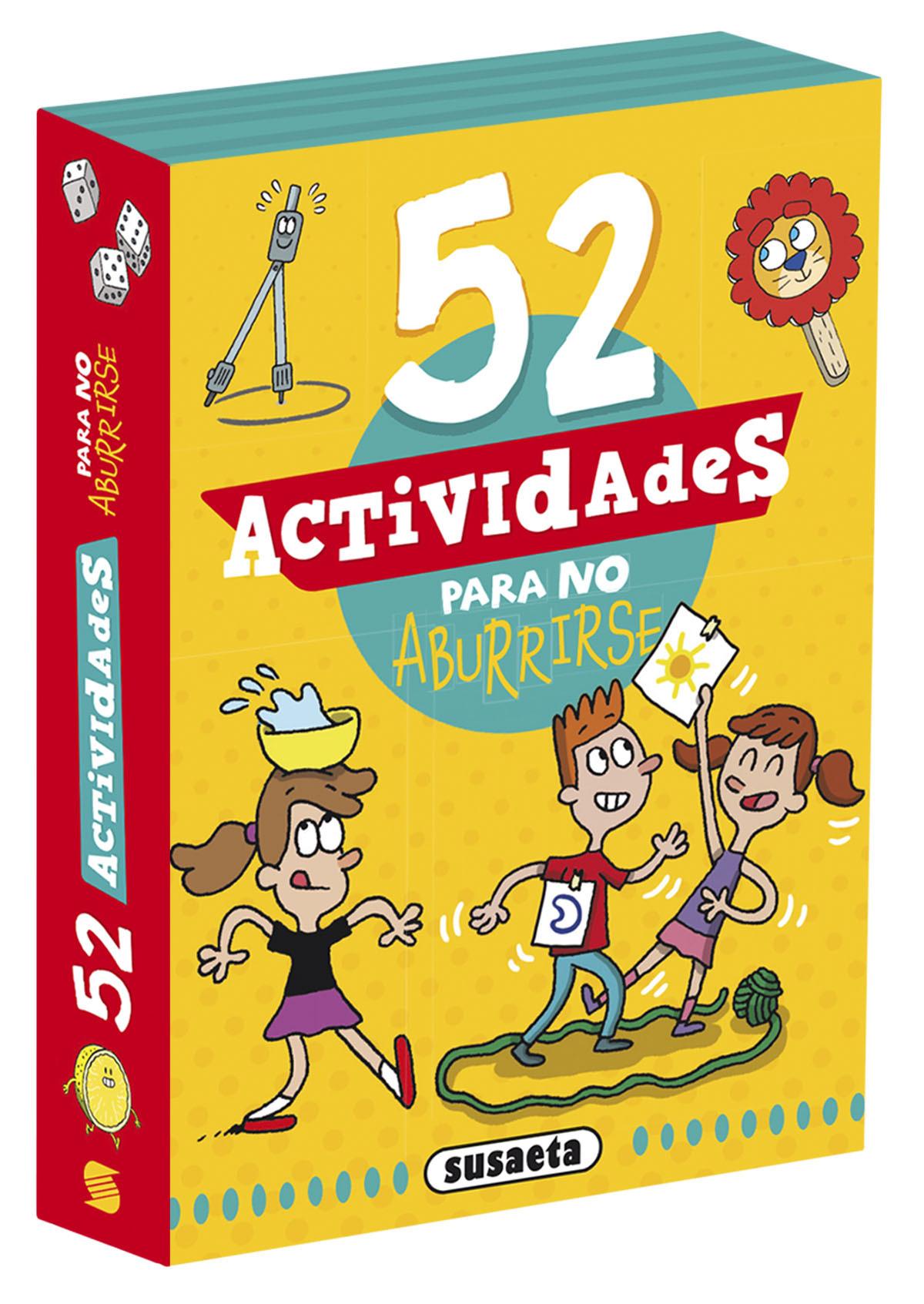 52 actividades para no aburrirse 9788467770308