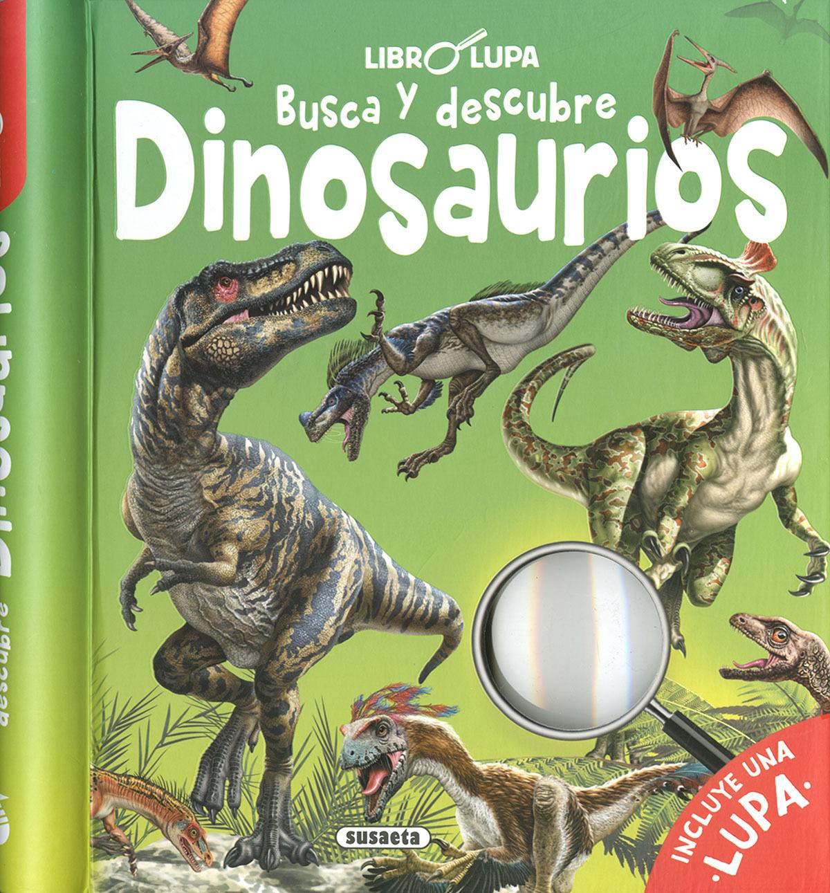Busca y descubre dinosaurios 9788467772524