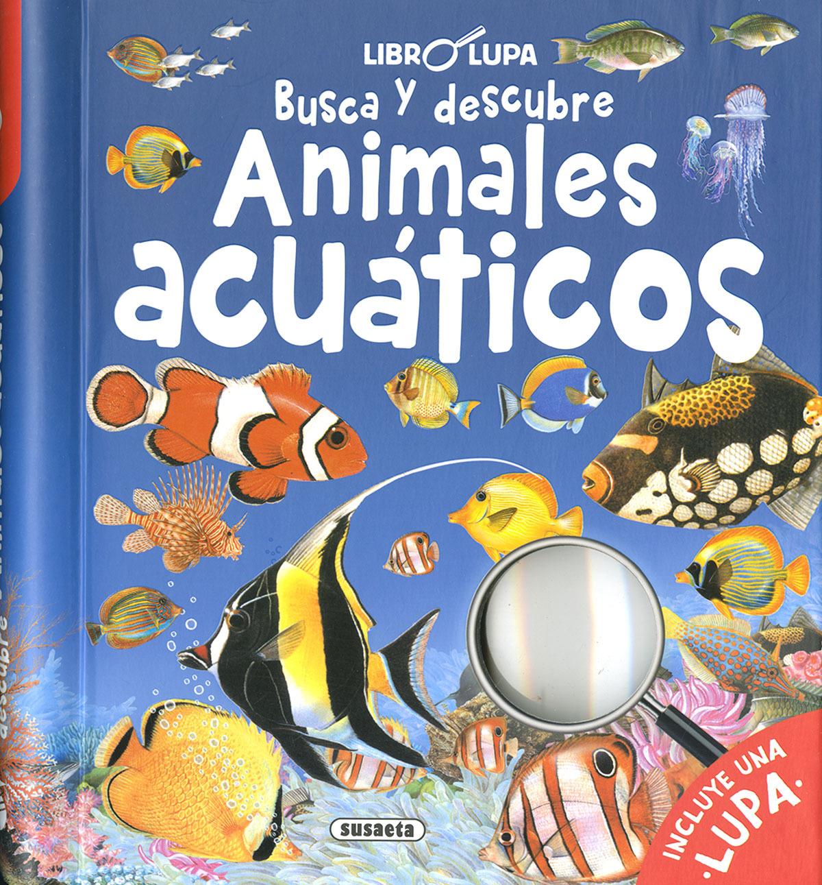 Busca y descubre animales acuáticos 9788467772531