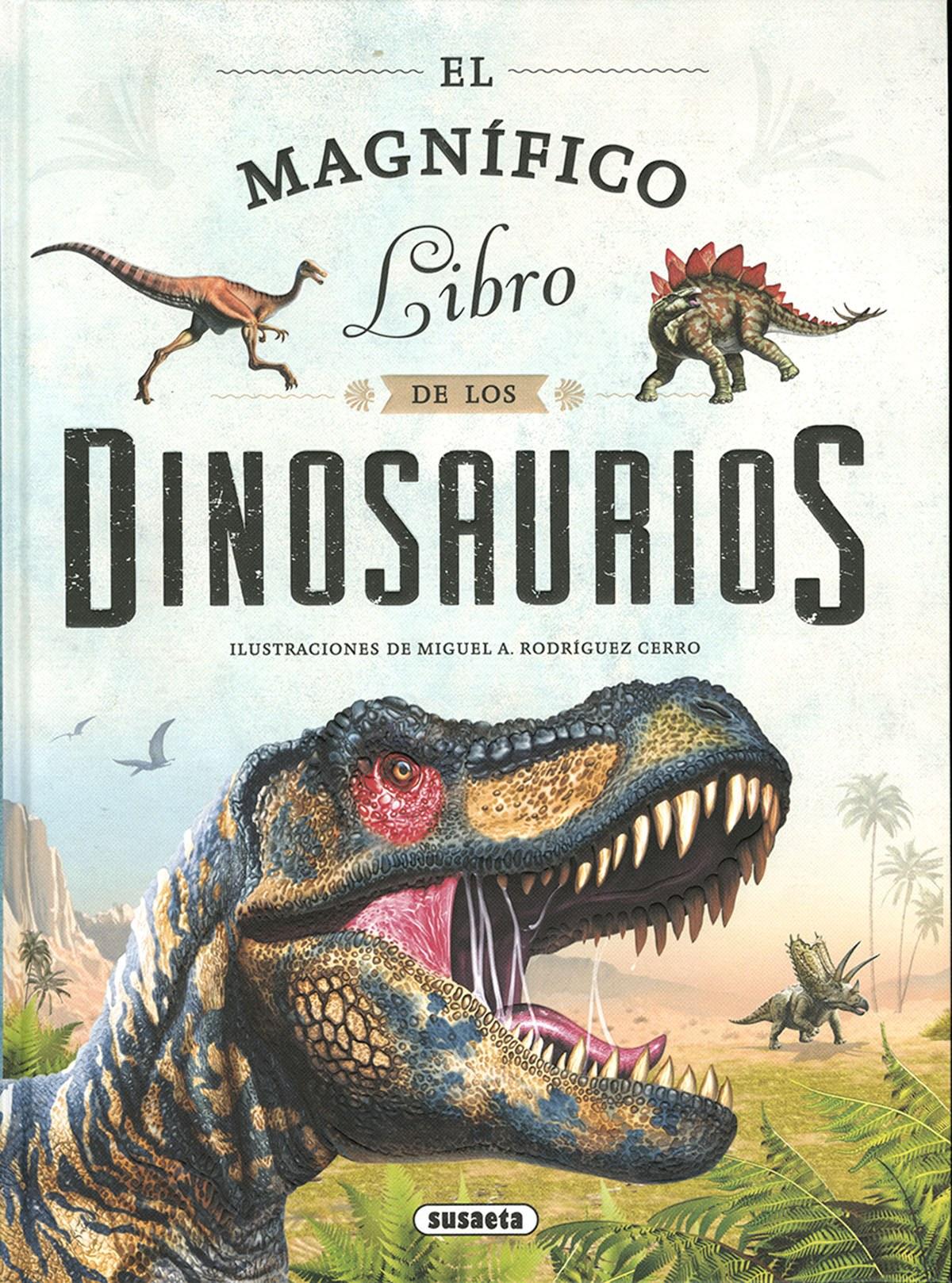 El magn¡fico libro de los dinosaurios 9788467774214