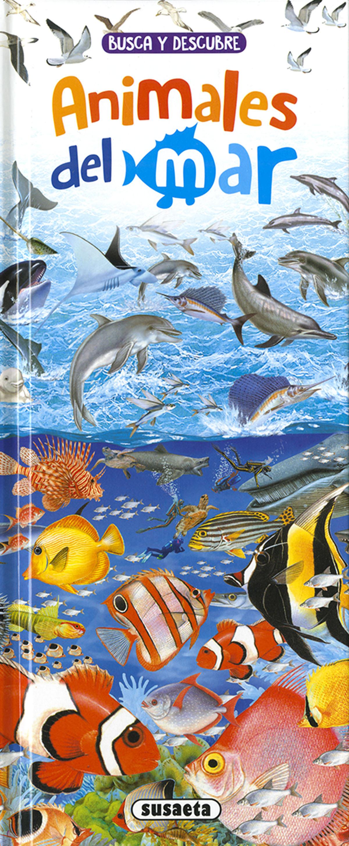 Busca y descubre Animales del mar 9788467775433