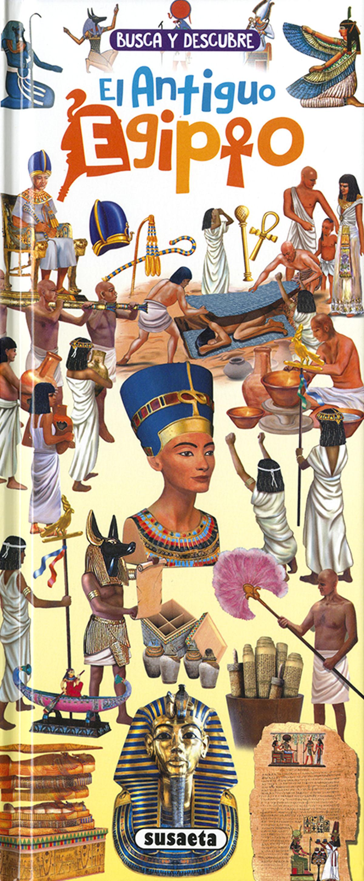 Busca y descubre El Antiguo Egipto 9788467775440