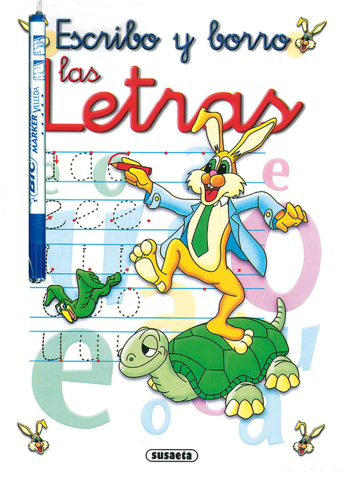 ESCRIBO Y BORRO LAS LETRAS 9788467777949