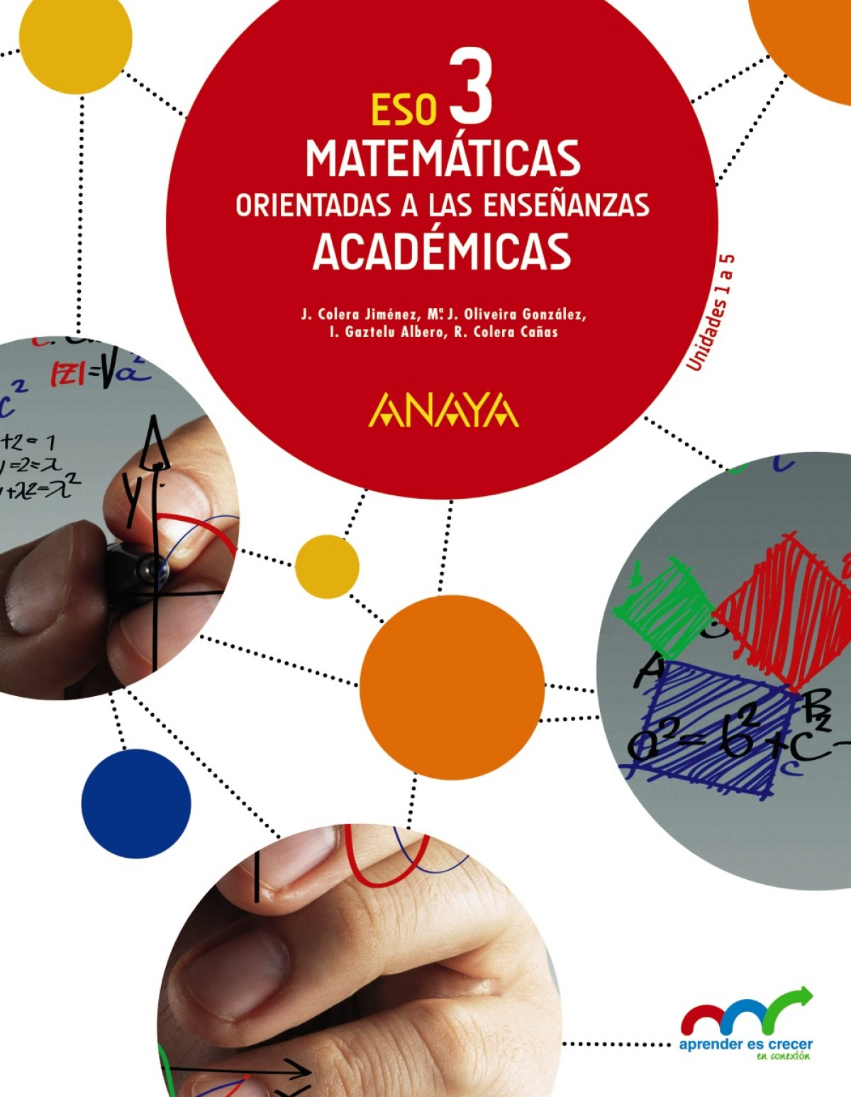 Matemáticas orientadas a las Enseñanzas Académicas 3. 9788467852134
