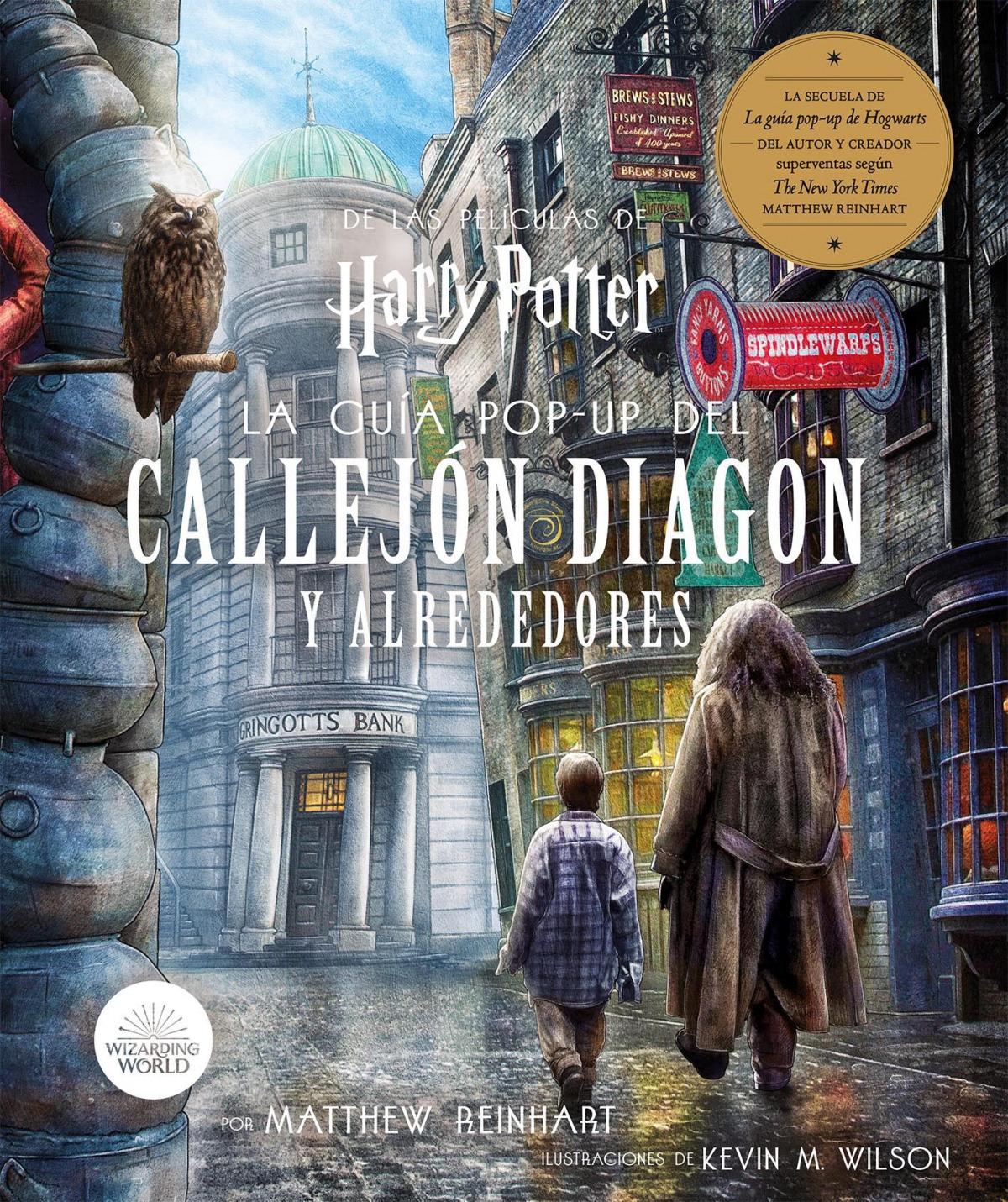 Harry Potter: La Gu¡a POP-UP del Callejo Diagon y Alrededores 9788467942200