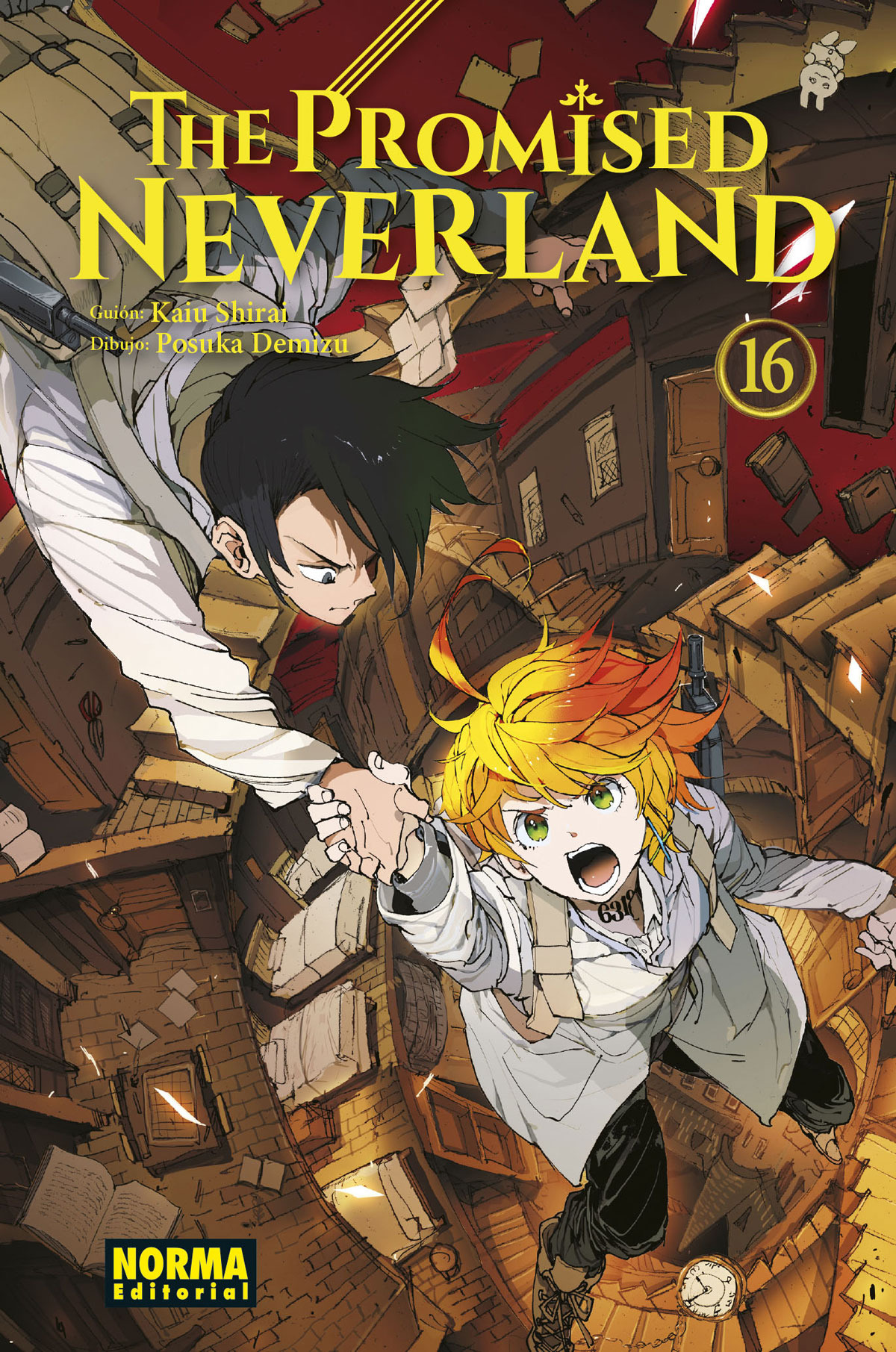 The Promised Neverland 16 9788467942590