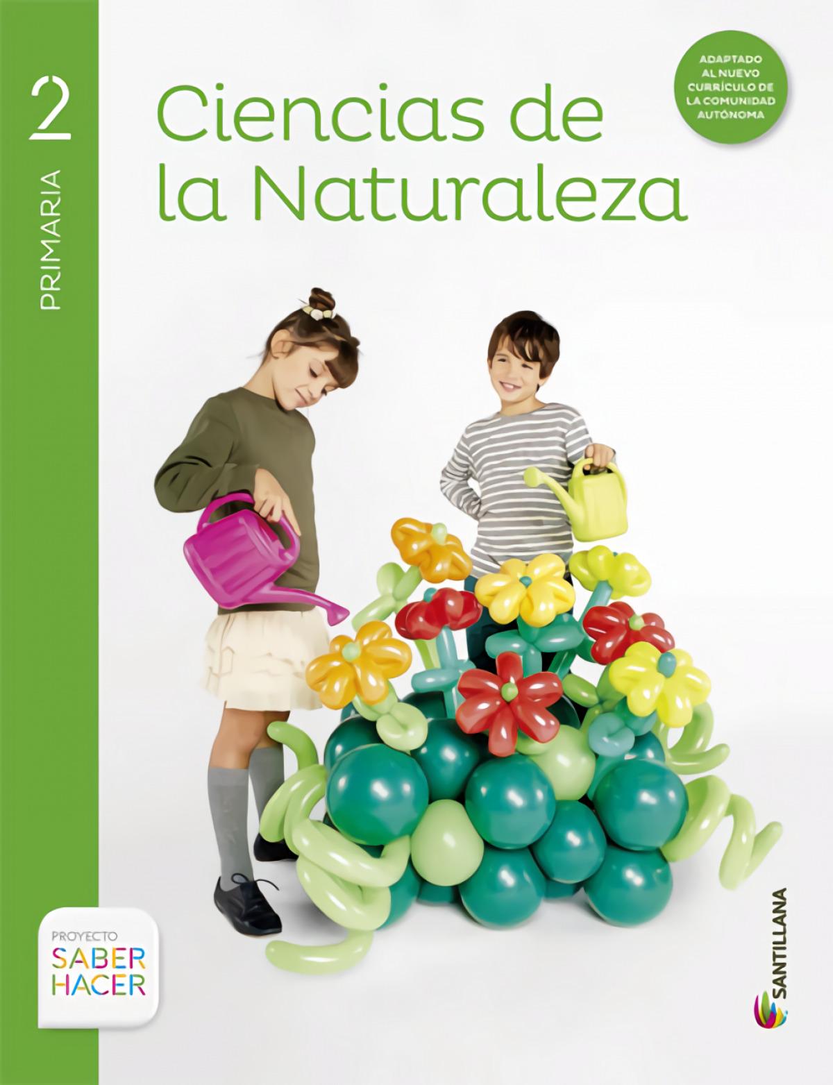 CIENCIAS DE LA NATURALEZA 2 PRIMARIA SABER HACER 9788468014852