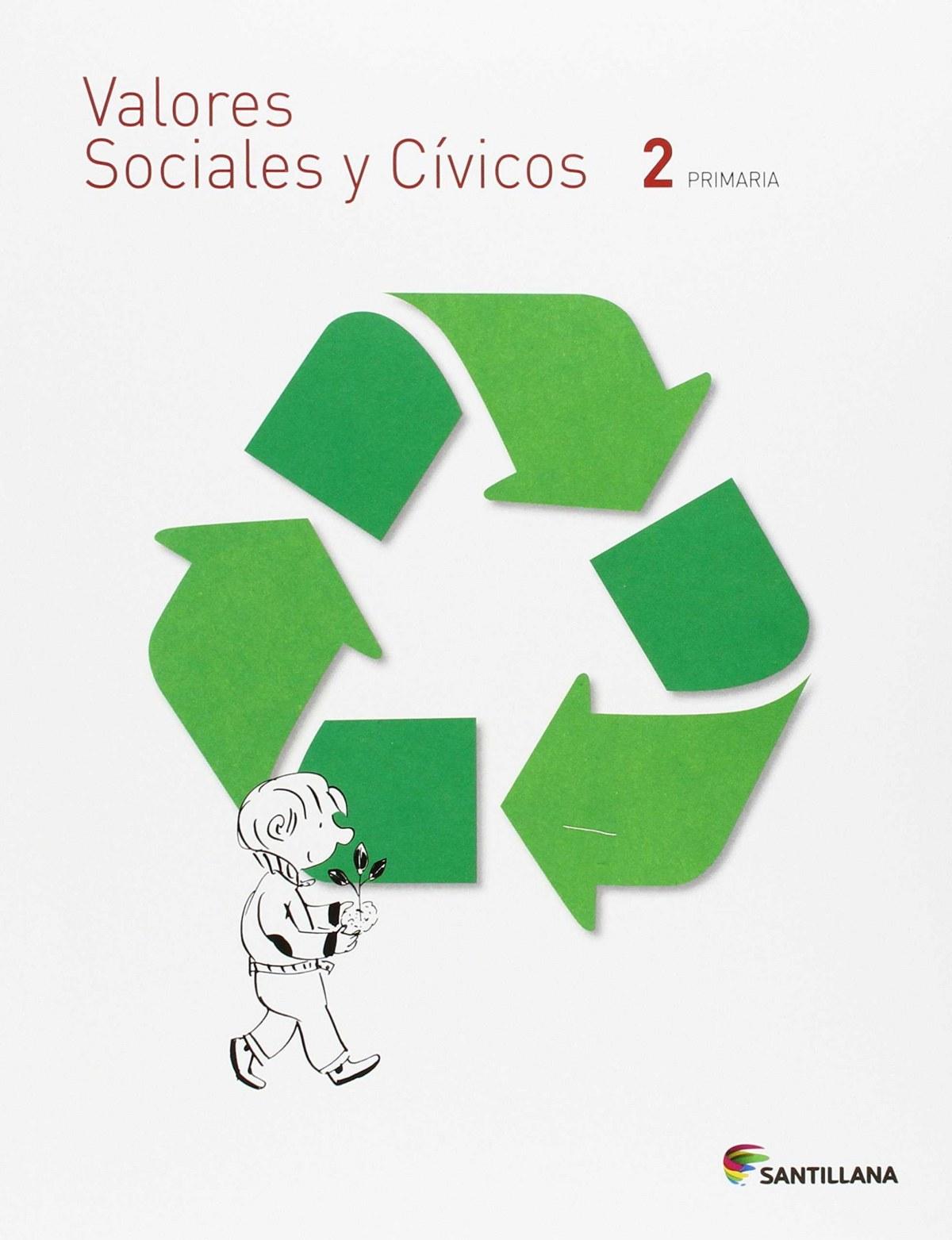 VALORES SOCIALES Y CÍVICOS 2 PRIMARIA SANTILLANA 9788468014951