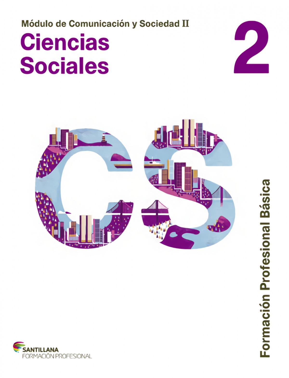 Ciencias sociales 2 (fp basica) formacion profesional 9788468018584