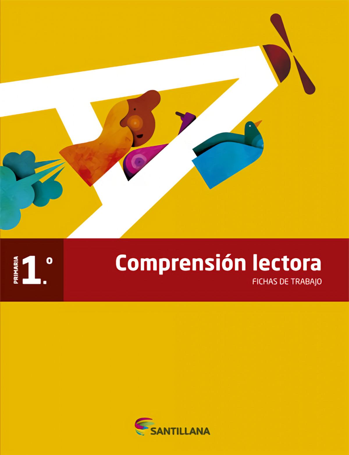 FICHAS COMPRESION LECTORA 1 PRIMARIA 9788468023243