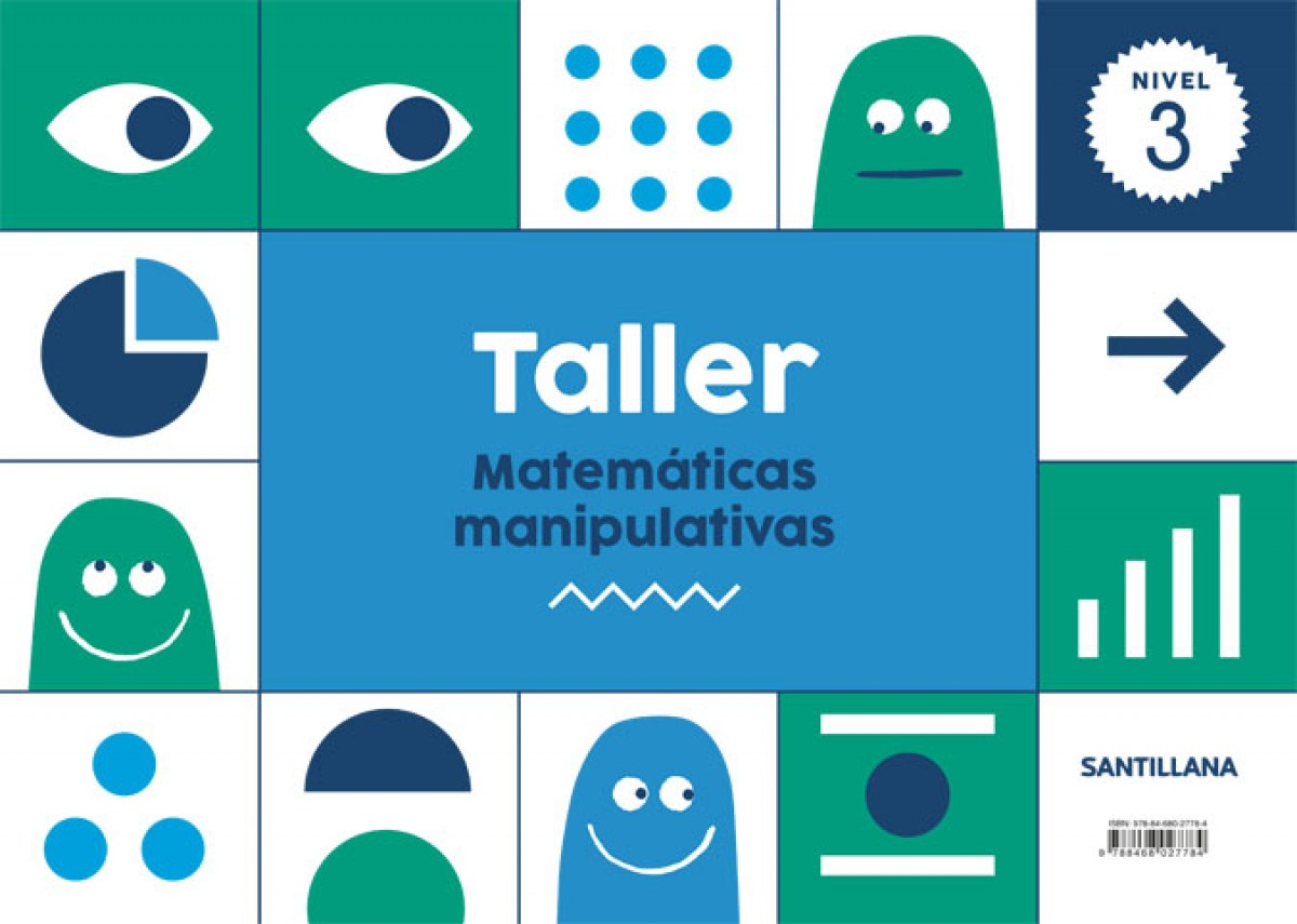 TALLER MATEMÁTICAS NIVEL 3 5 AñOS 9788468027784