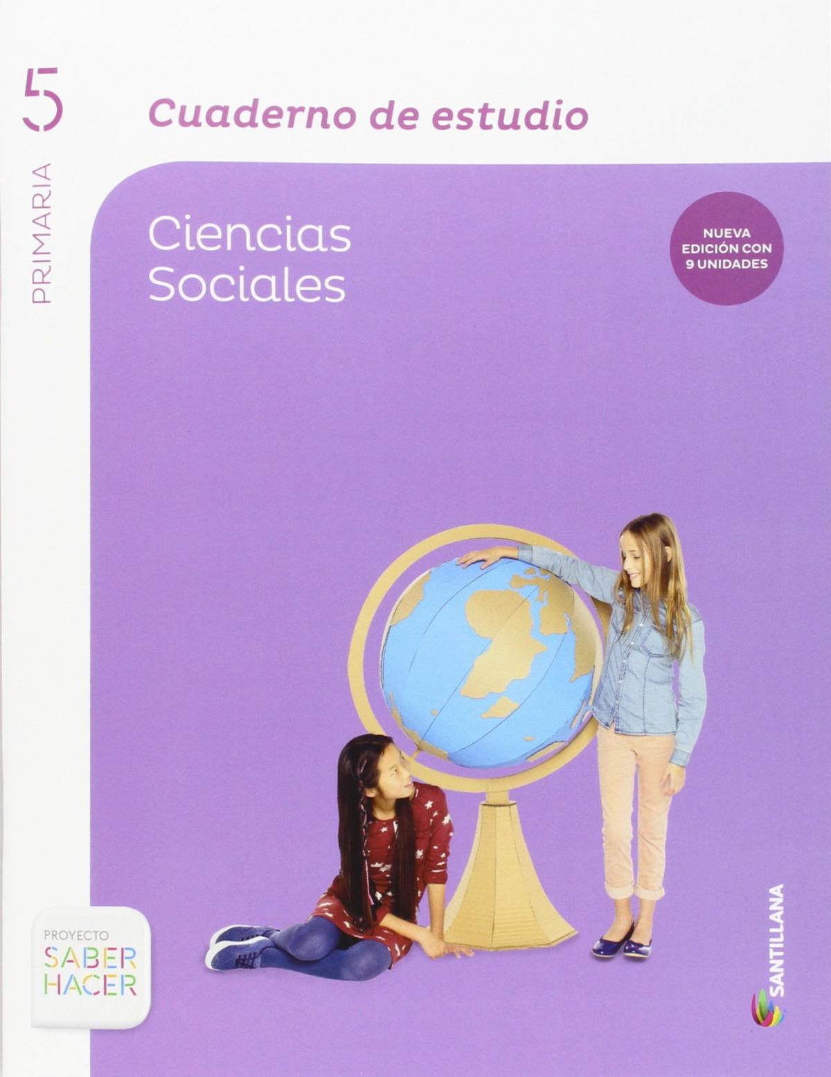 5PRI CUAD ESTUDIO C SOCIALES ED15 9788468030029