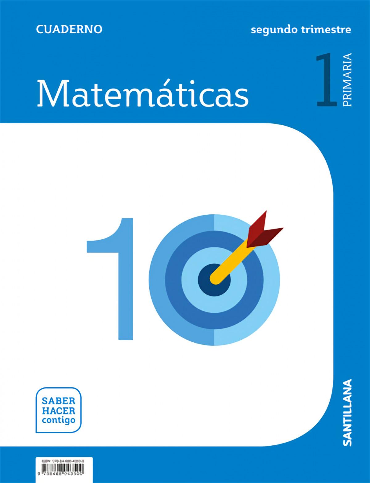 CUADERNO MATEMÁTICAS 2-1o.PRIMARIA. SABER HACER CONTIGO 9788468043500