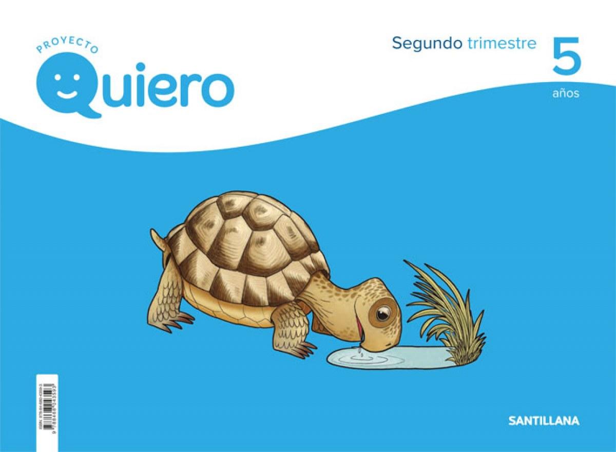 PROYECTO QUIERO 5 AñOS 2o.TRIMESTRE 9788468043593
