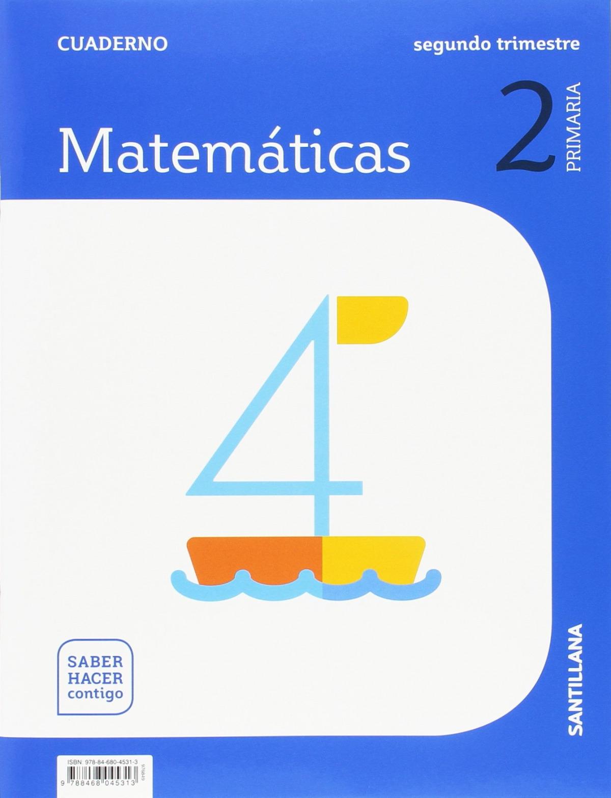 CUADERNO MATEMÁTICAS 2-2o.PRIMARIA. SABER HACER CONTIGO 9788468045313