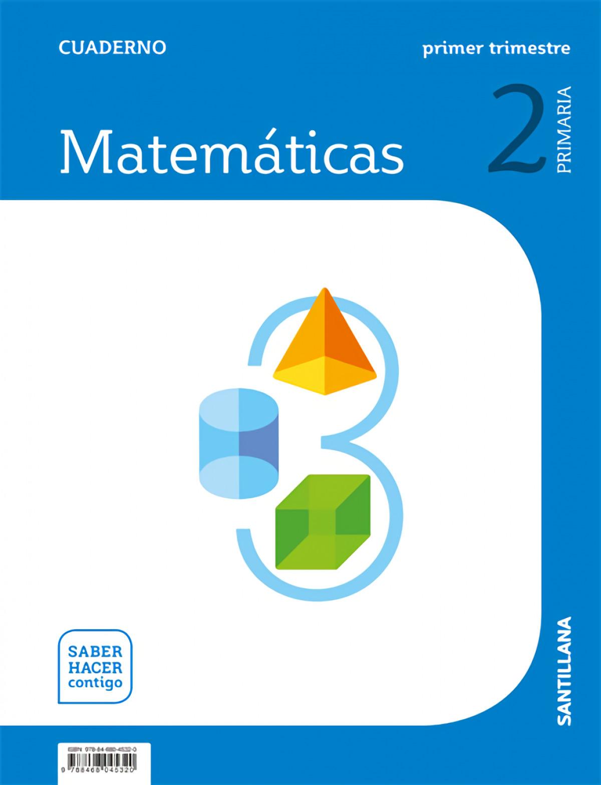 CUADERNO MATEMÁTICAS 1-2o.PRIMARIA. SABER HACER CONTIGO 9788468045320