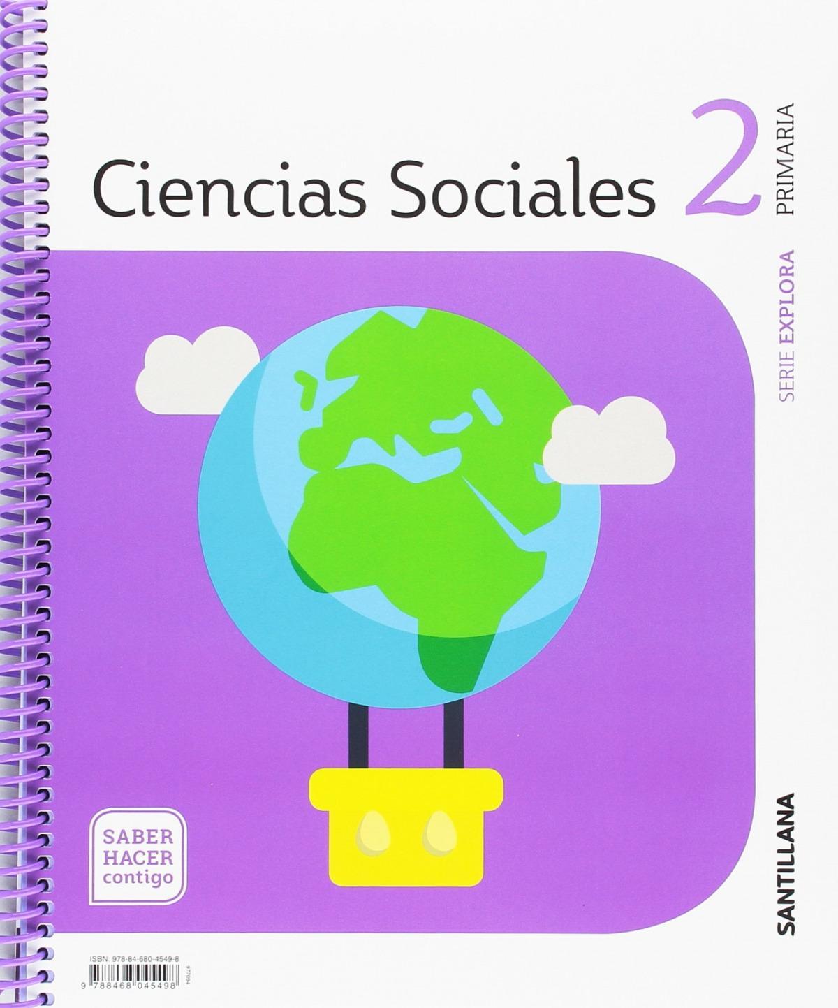 CIENCIAS SOCIALES 2o.PRIMARIA. EXPLORA. SABER HACER CONTIGO 9788468045498