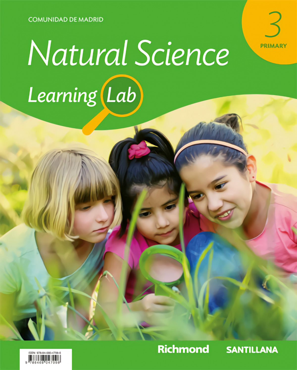 NATURAL SCIENCE 3o.PRIMARIA. LEARNING LAB. MADRID 9788468047096