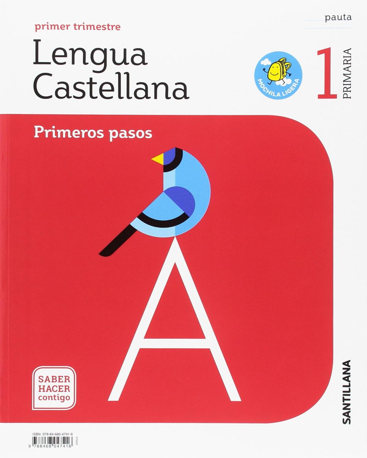 LENGUA CASTELLANA 1ºTRIM 1 PRIMARIA PRIMEROS PASOS