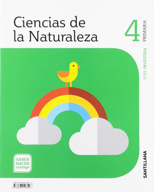 CIENCIAS NATURALES INVESTIGA 4 PRIMARIA ED2019 9788468049854