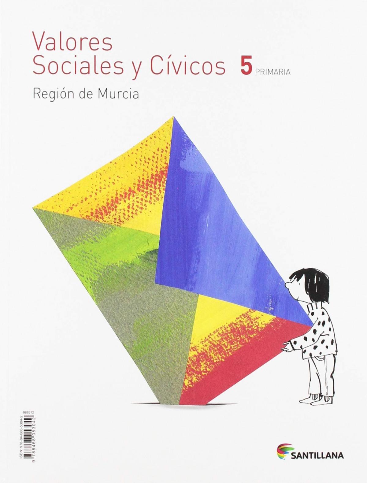 VALORES CIVICOS 5 PRIMARIA MURCIA ED19 9788468053042
