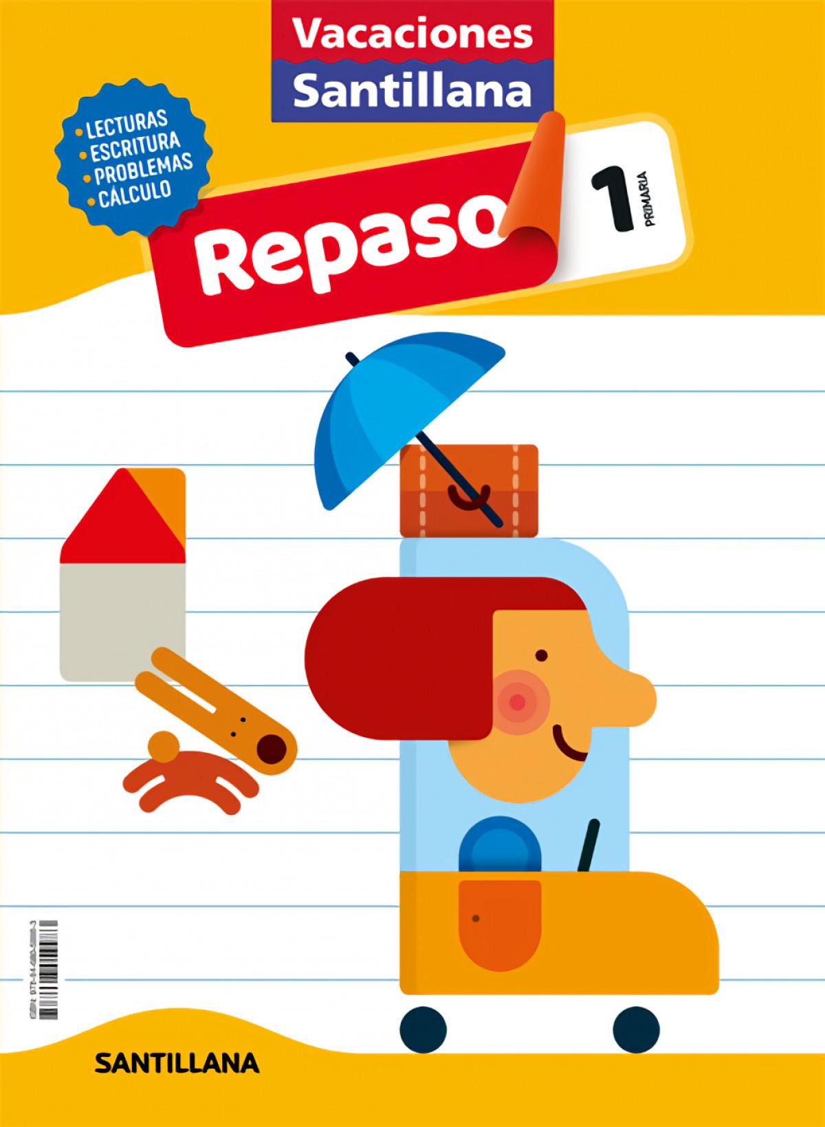 VACACIONES REPASO 1o.EP 2020 9788468059983