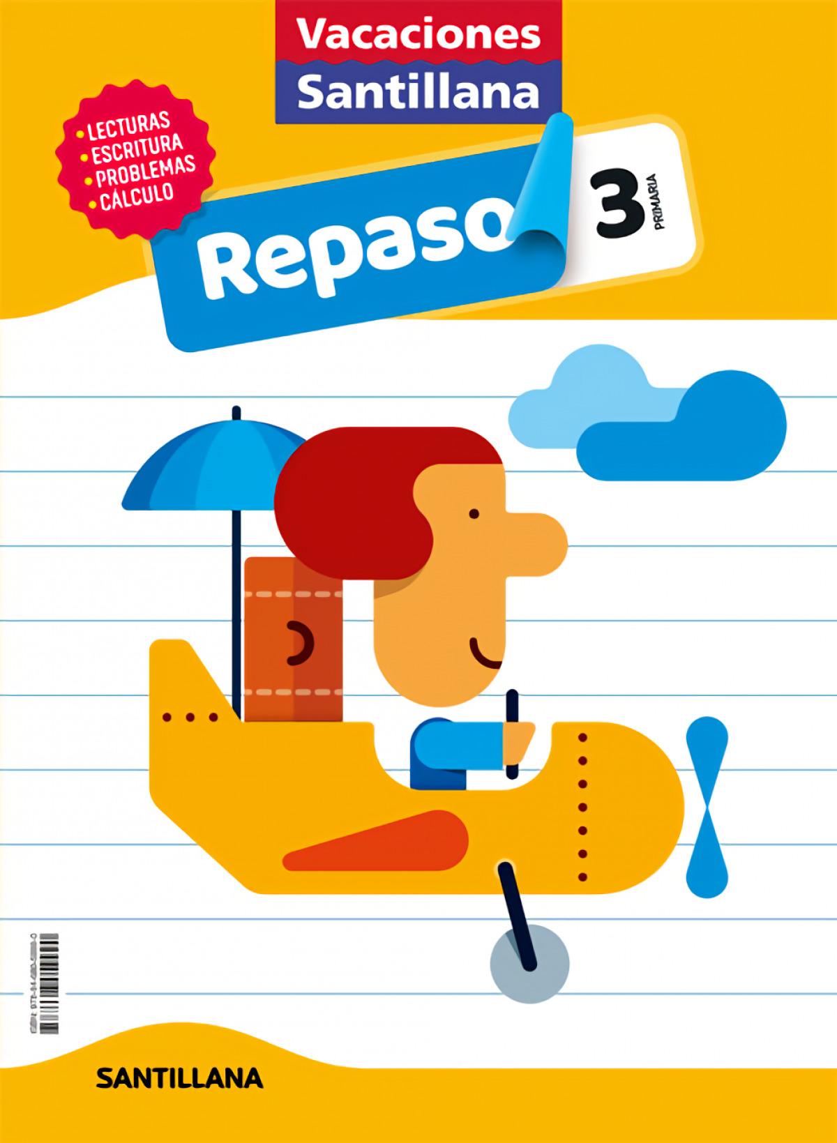 VACACIONES REPASO 3o.EP 2020 9788468059990