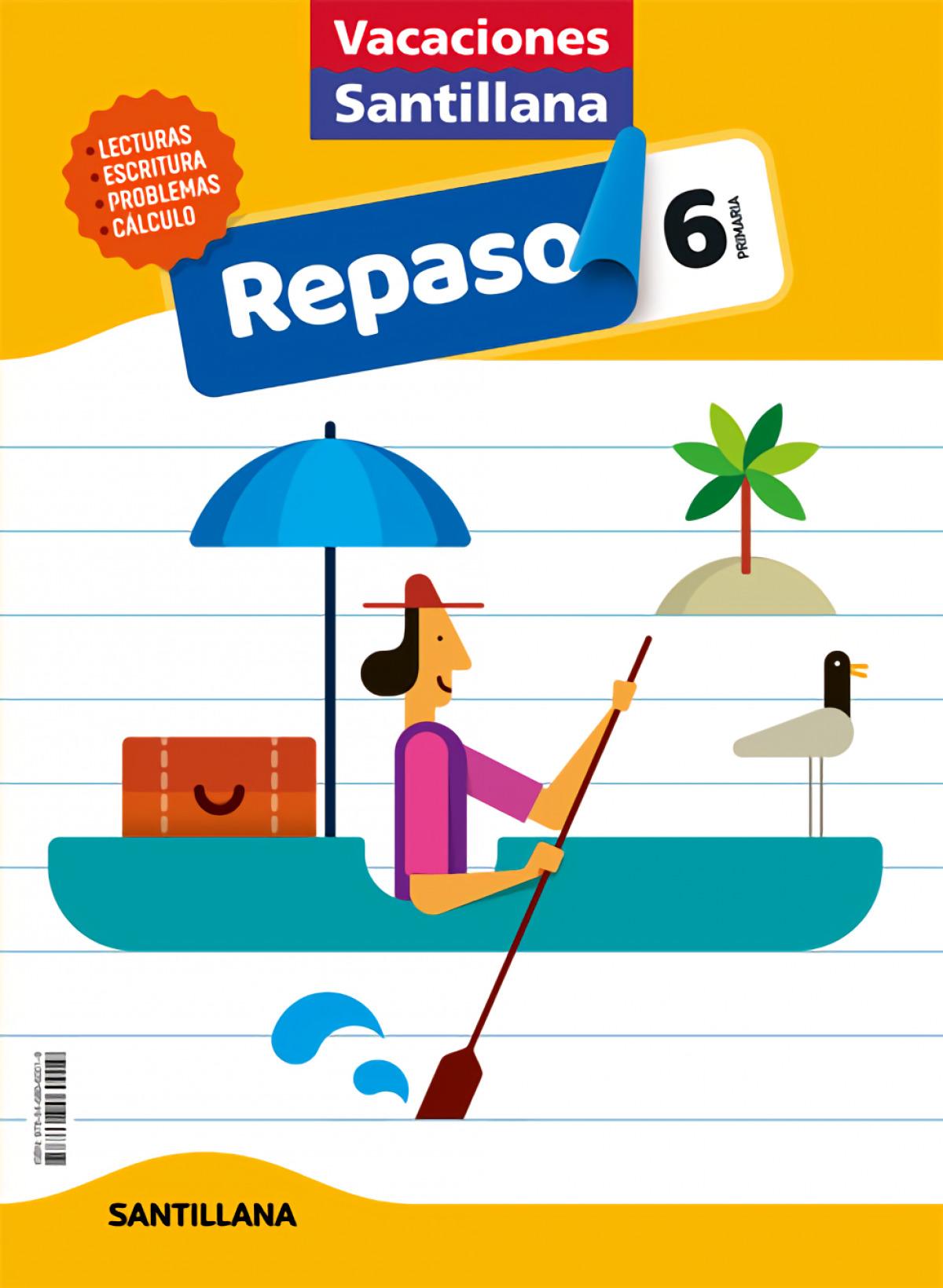 VACACIONES REPASO 6o.EP 2020 9788468060019