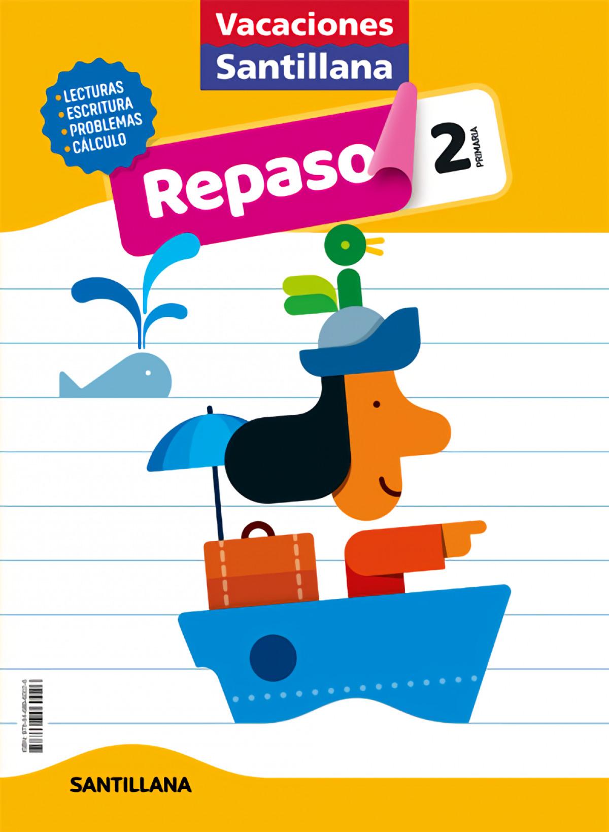 VACACIONES REPASO 2o.EP 2020 9788468060026