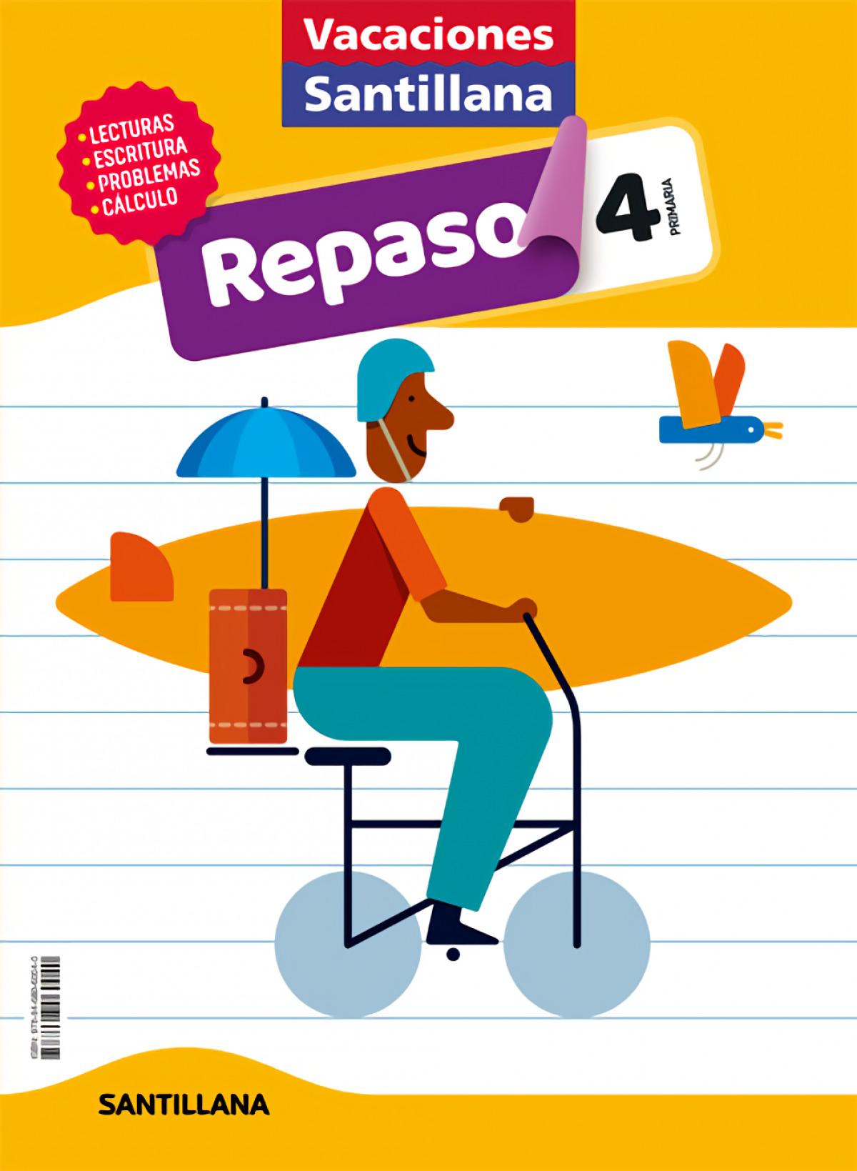 VACACIONES REPASO 4o.EP 2020 9788468060040
