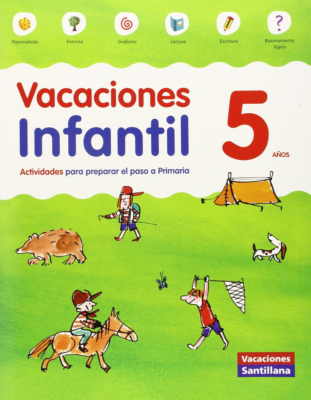 Vacaciones 5 años 9788468087146