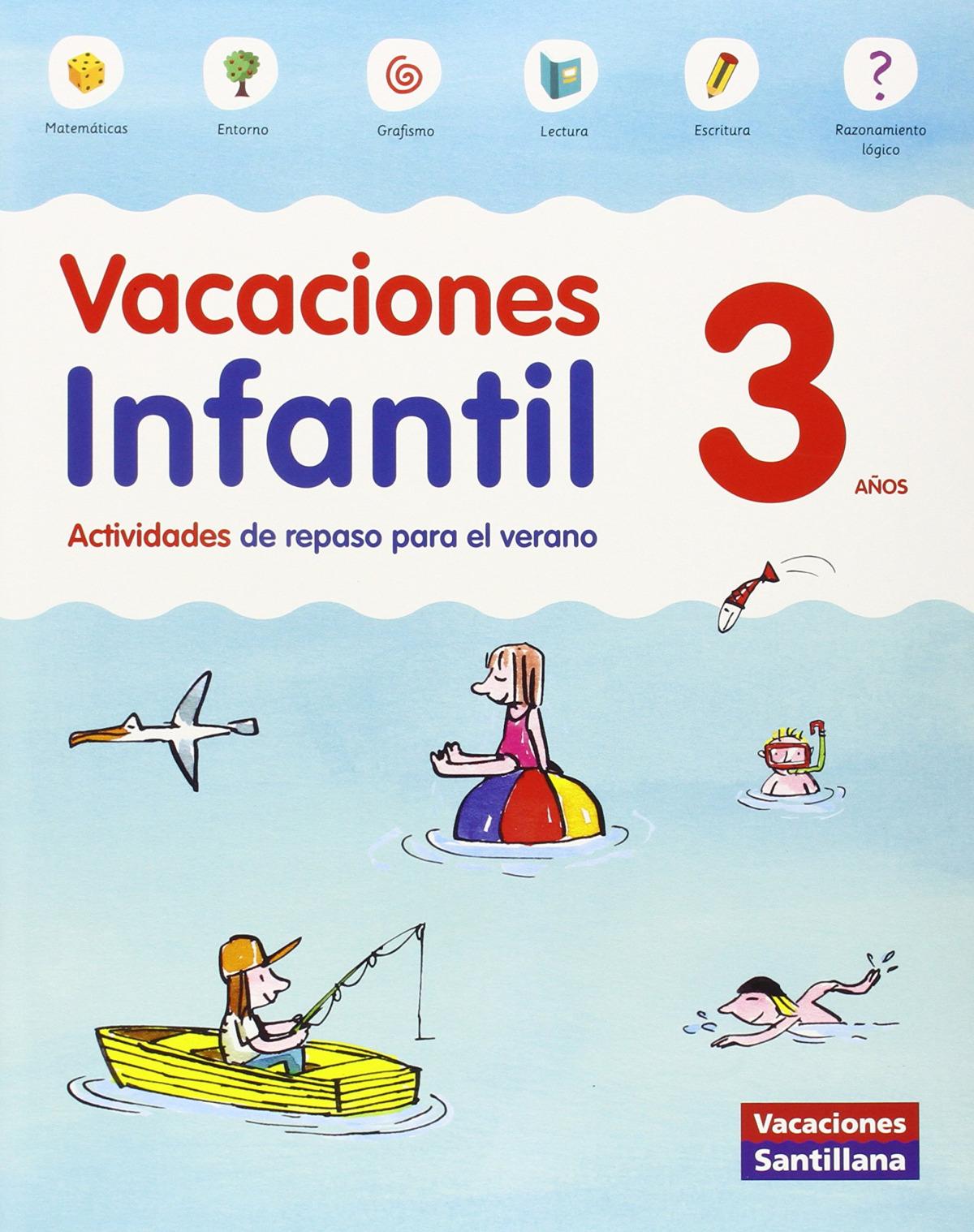 Vacaciones 3 años 9788468087696