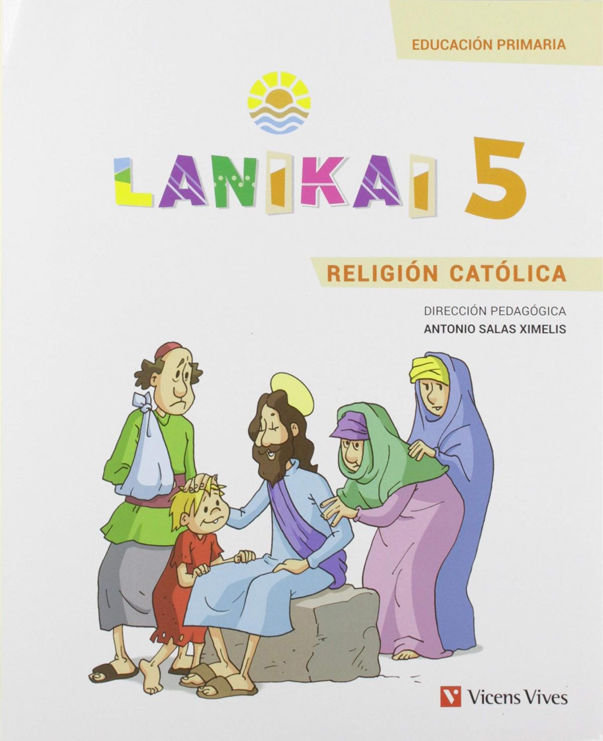 LANIKAI RELIGIÓN 5o.PRIMARIA 9788468222936