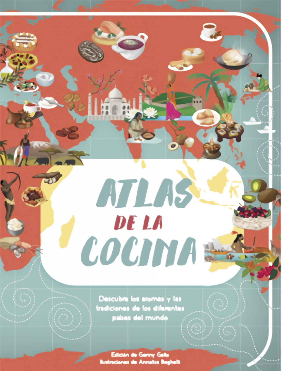 ATLAS DE LA COCINA 9788468224473