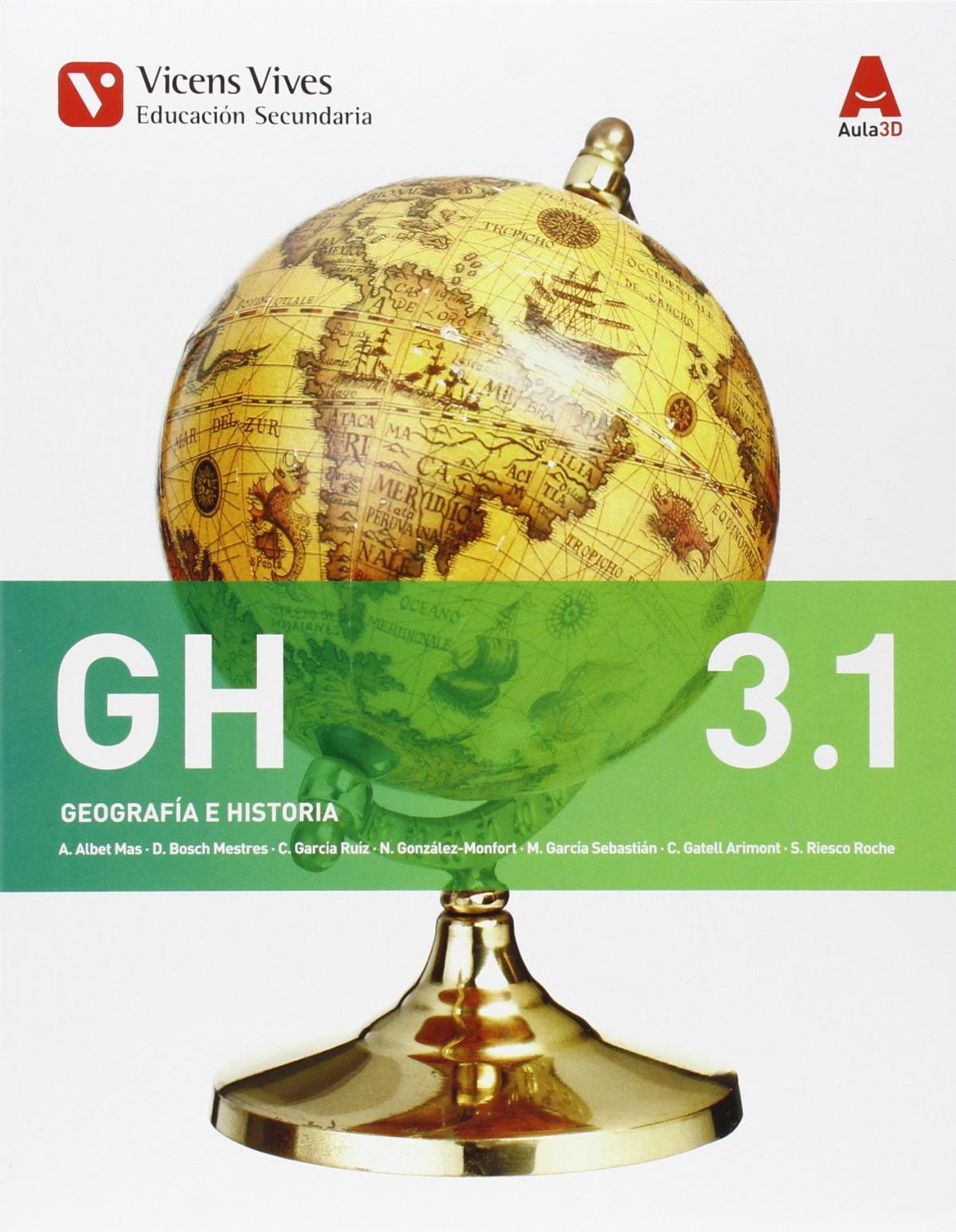 Geograf¡a e historia 3o.eso. Bimestral 9788468230436