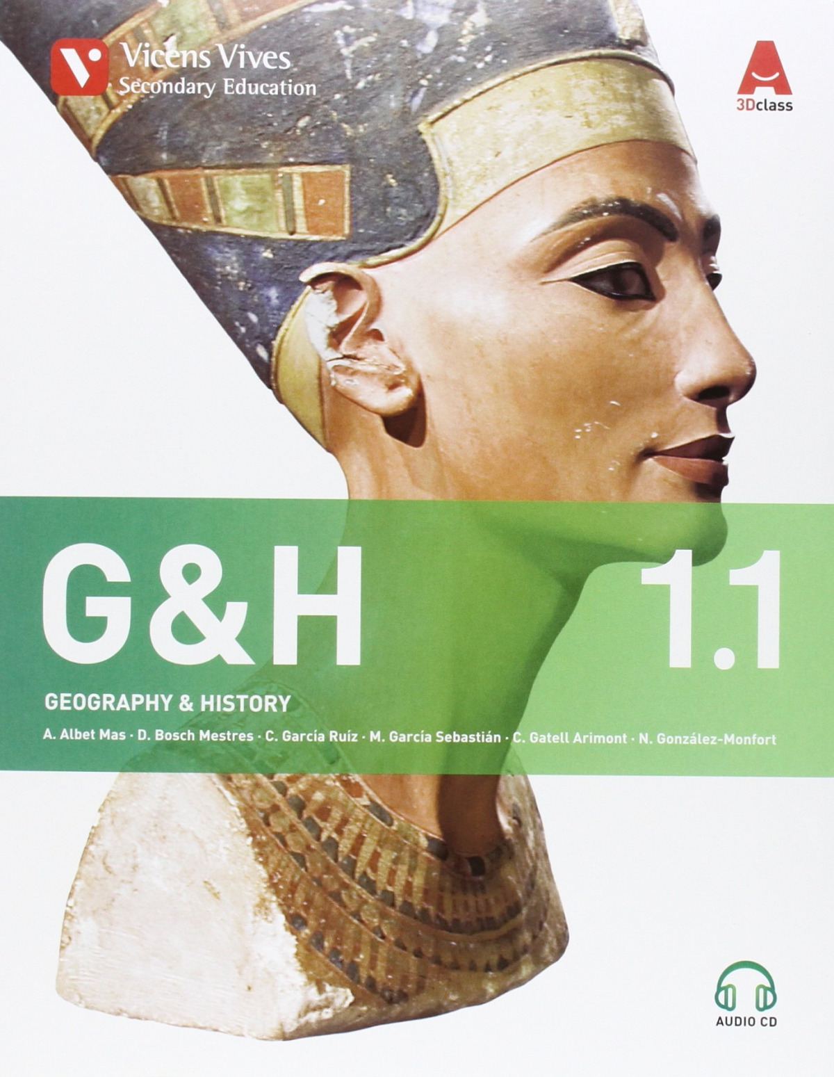 Geography and history 1o.eso. Trimestral+cd. Inglés 9788468232393