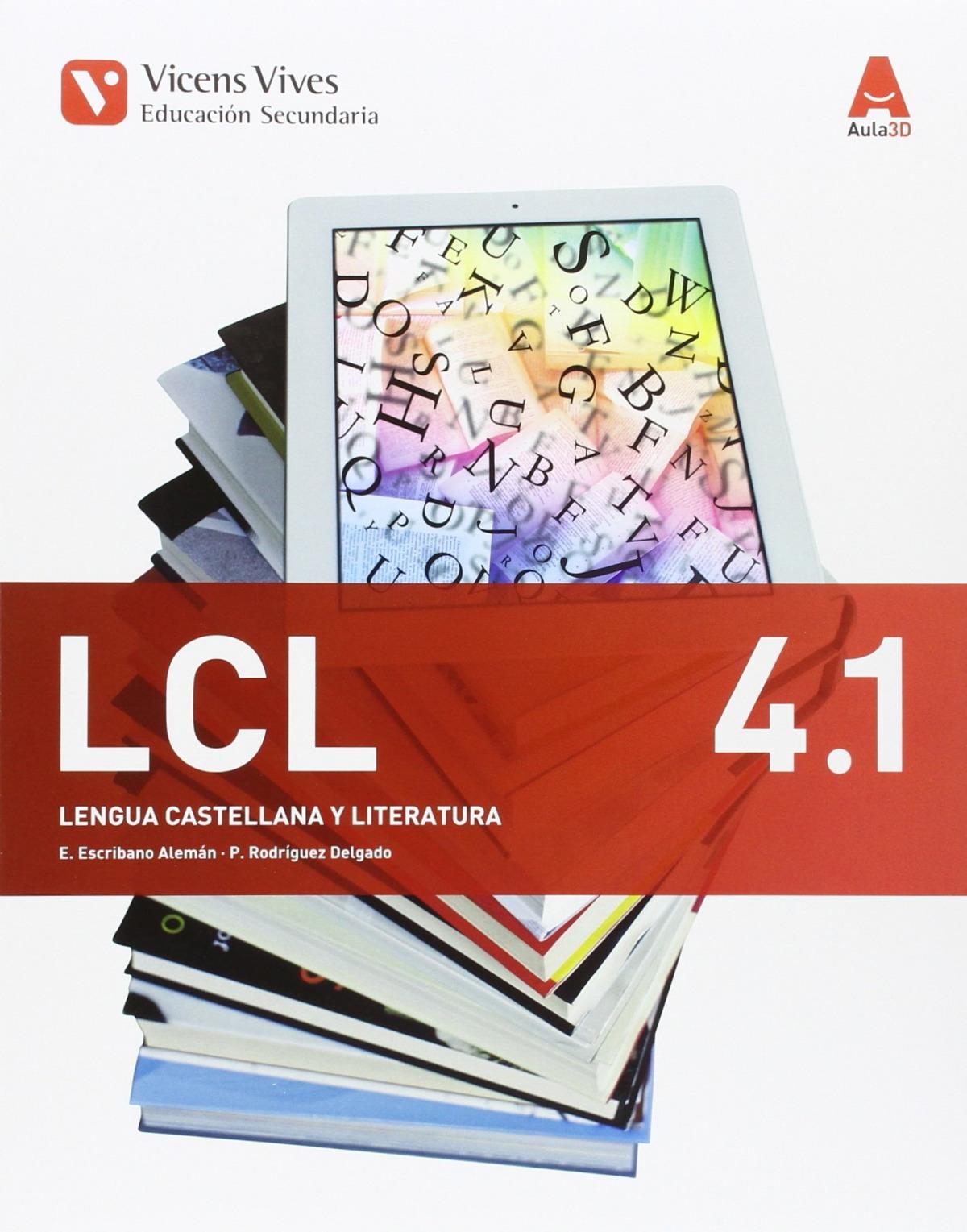 Lengua castellana 4o.eso. Trimestral. Aula 3d 9788468235776