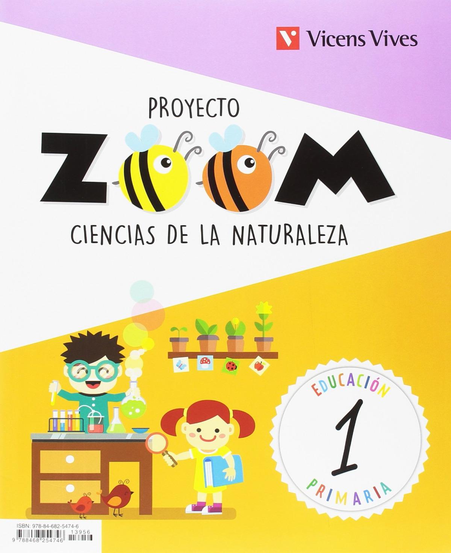 CIENCIAS NATURALES 1 PRIMARIA CON ACTIVIDADES DE BIENVENIDA PROYECTO ZOOM 9788468254746