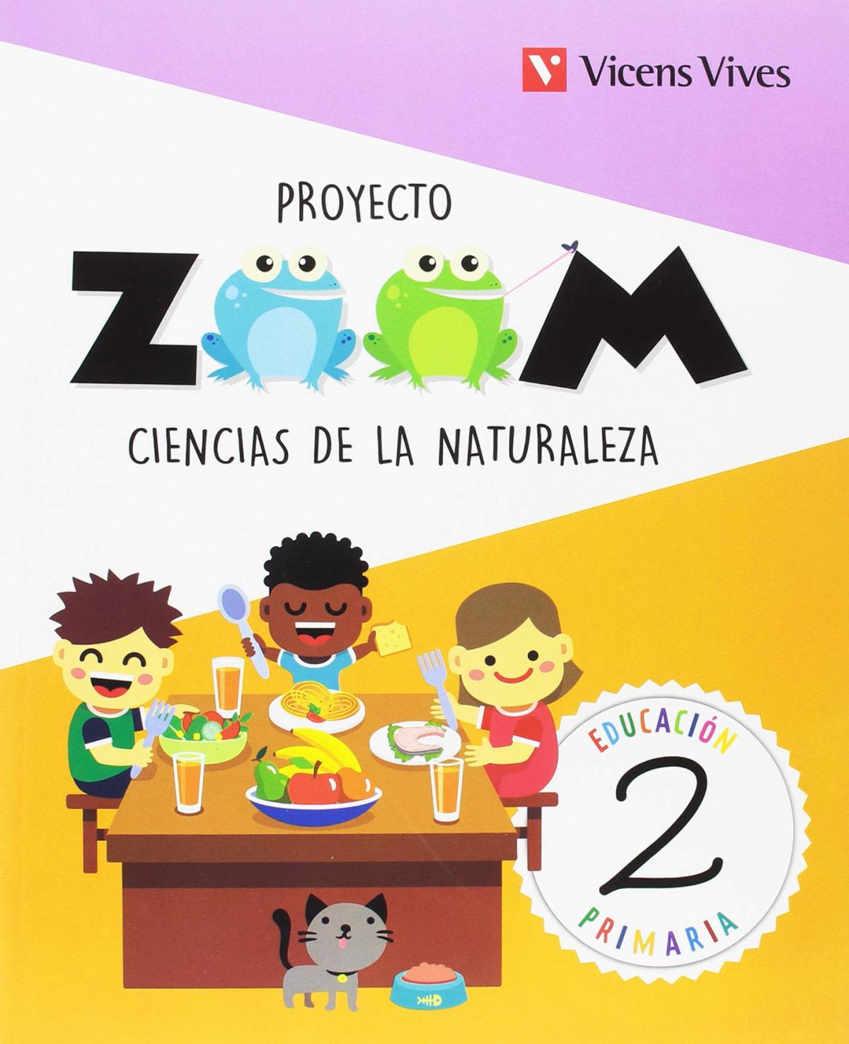 CIENCIAS NATURALES 2 PRIMARIA PROYECTO ZOOM 9788468254876