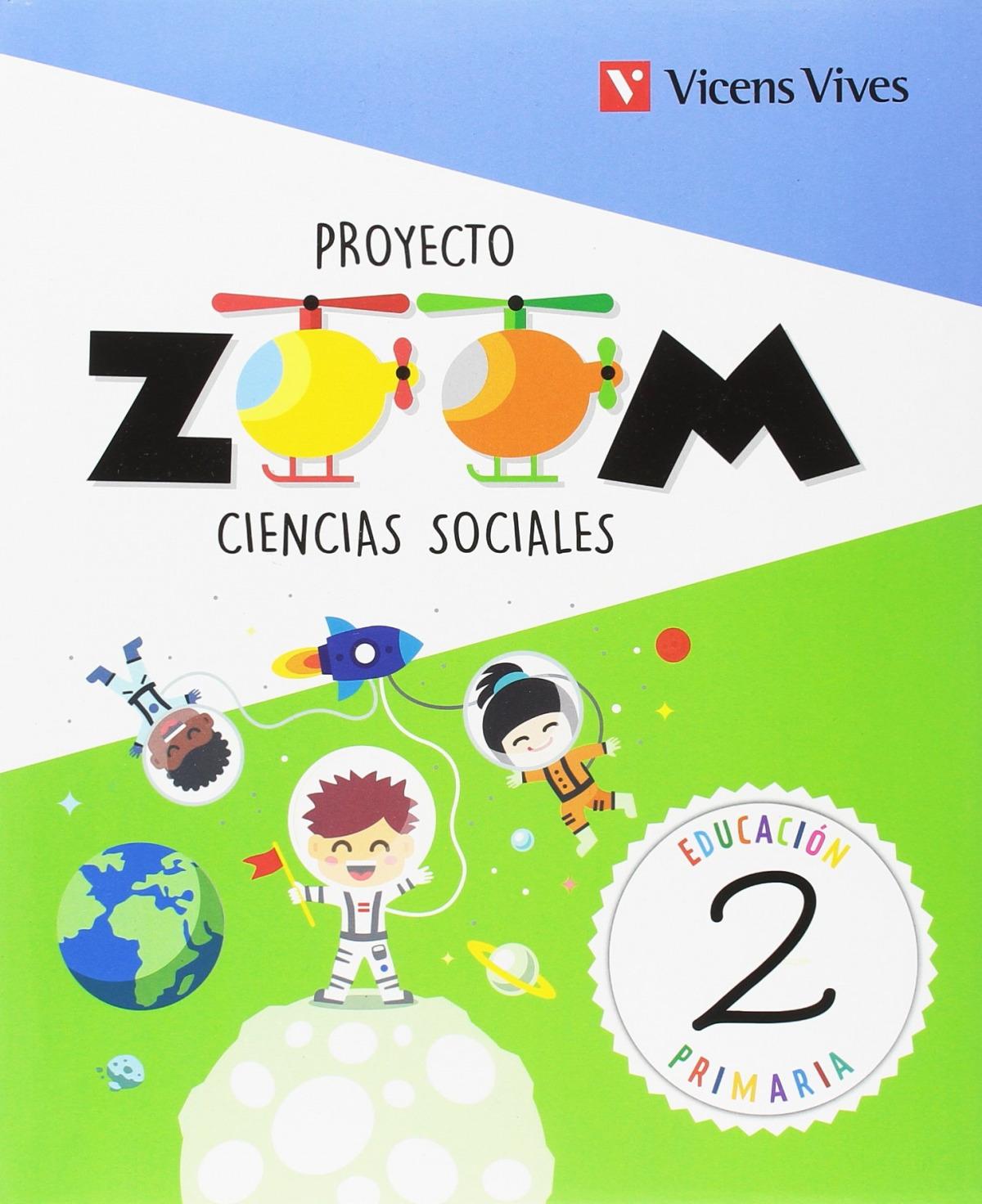 CIENCIAS SOCIALES 2 PRIMARIA PROYECTO ZOOM 9788468254913