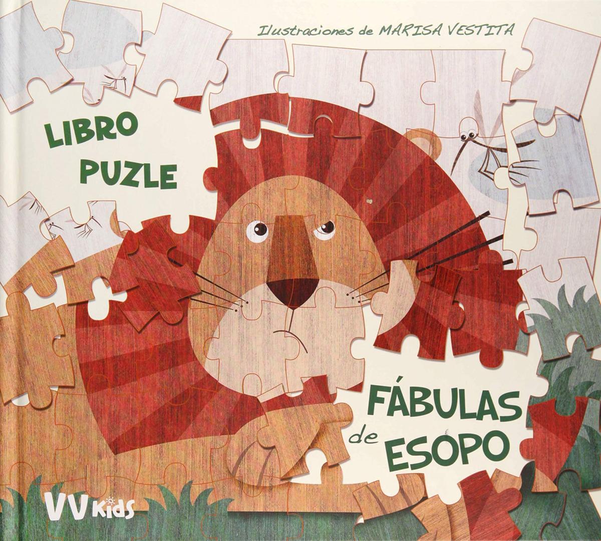 FABULAS DE ESOPO LIBRO PUZZLE + 5 AñOS 9788468258461
