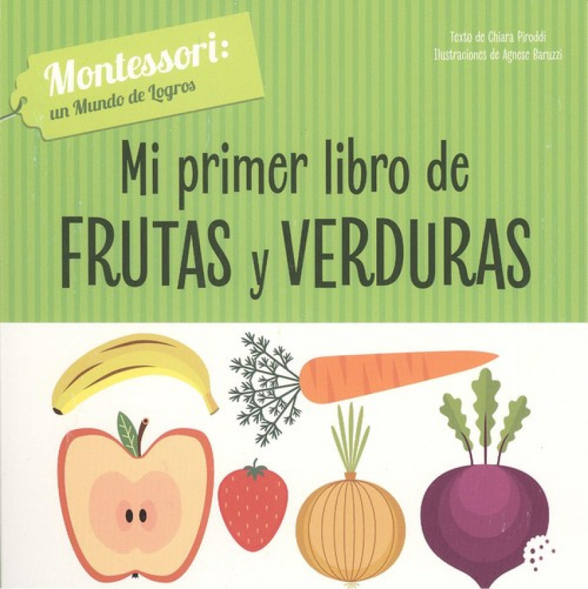 MI PRIMER LIBRO DE FRUTAS Y VERDURAS 9788468261713
