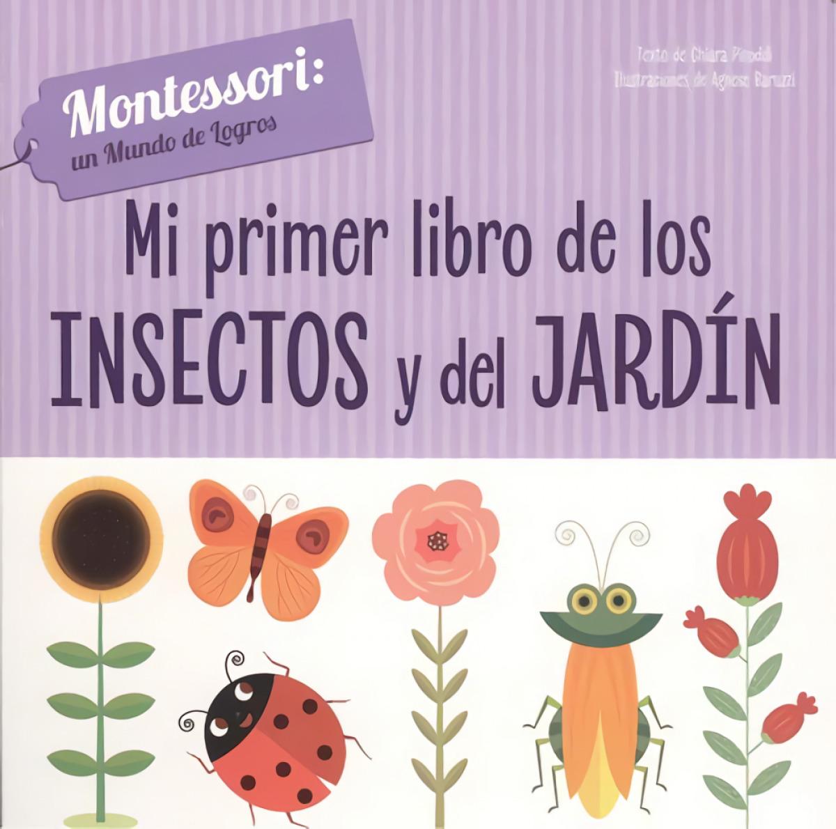 MI PRIMER LIBRO DE INSECTOS Y JARDÍN 9788468261720