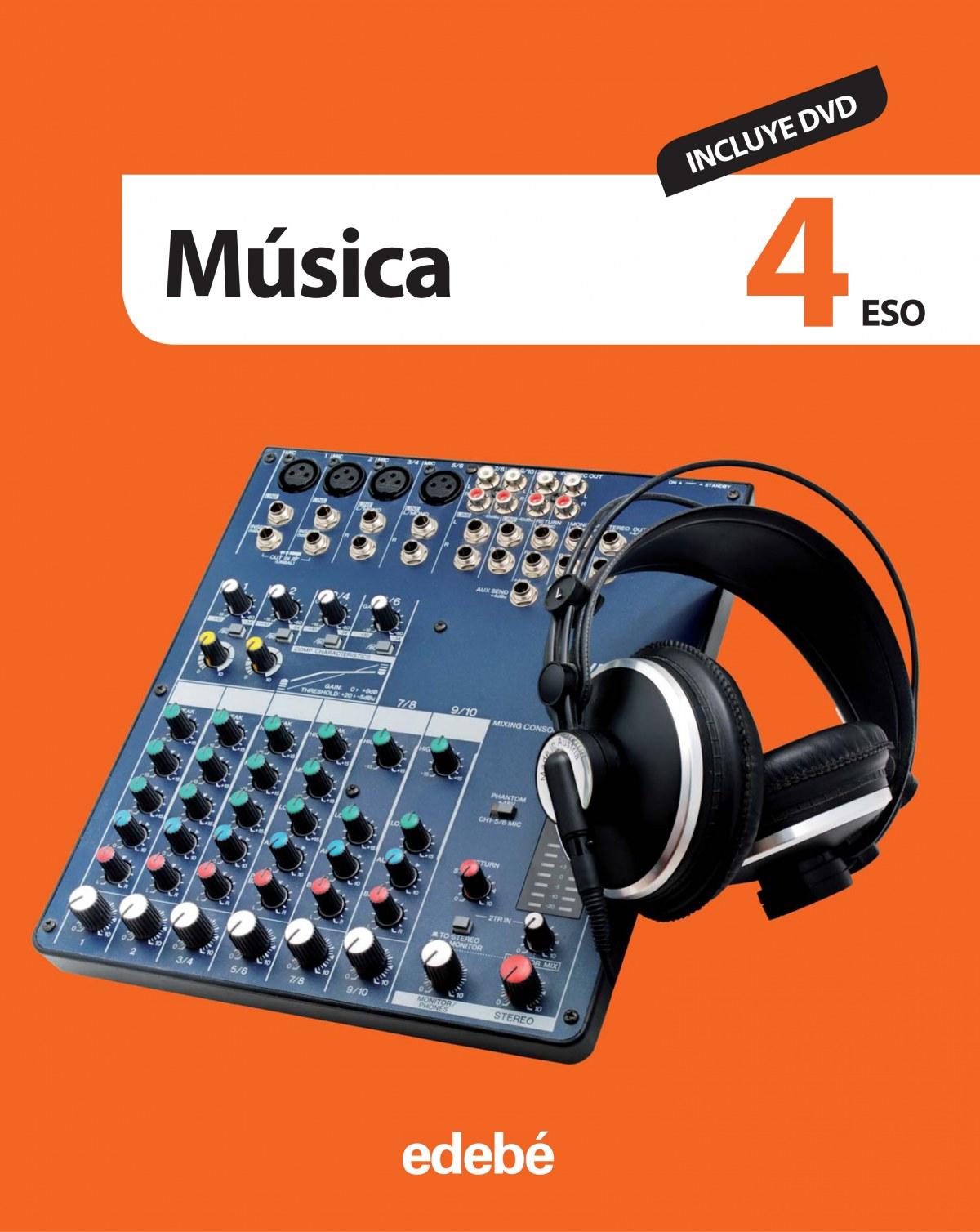 MUSICA 4o..ESO (+DVD) 9788468303499