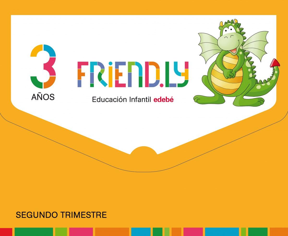 FRIENDLY 3 AñOS 2o. TRIMESTRE 2017 9788468332178