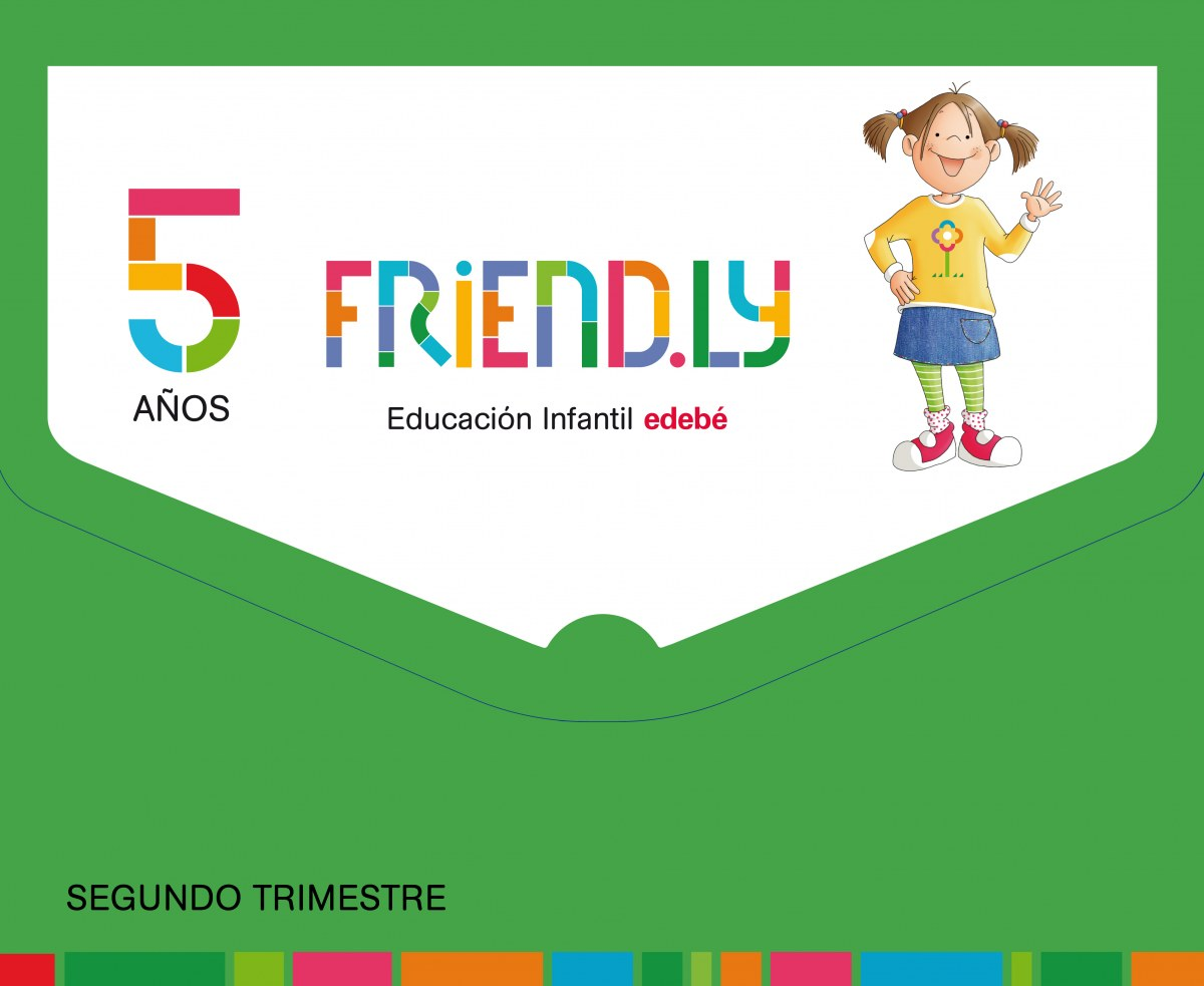 FRIENDLY 5 AñOS  2o. TRIMESTRE 2017 9788468332291