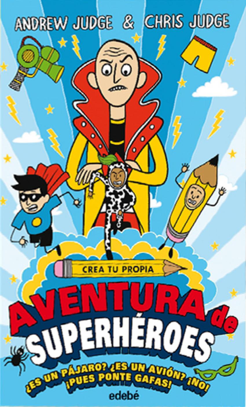 CREA TU PROPIA AVENTURA DE SUPERHÉROES 9788468335148