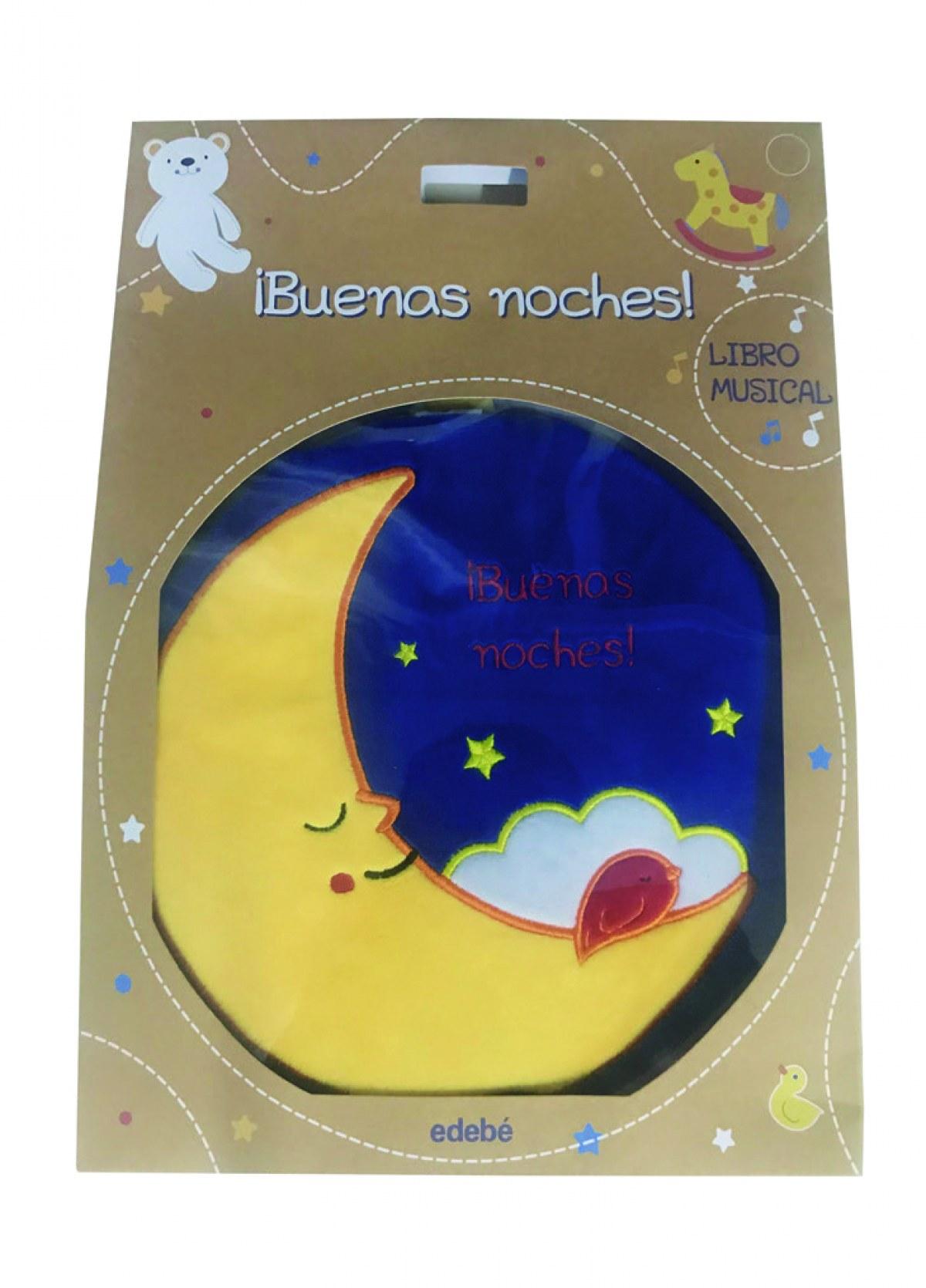 ¡BUENAS NOCHES!: LIBRO MUSICAL 9788468348896