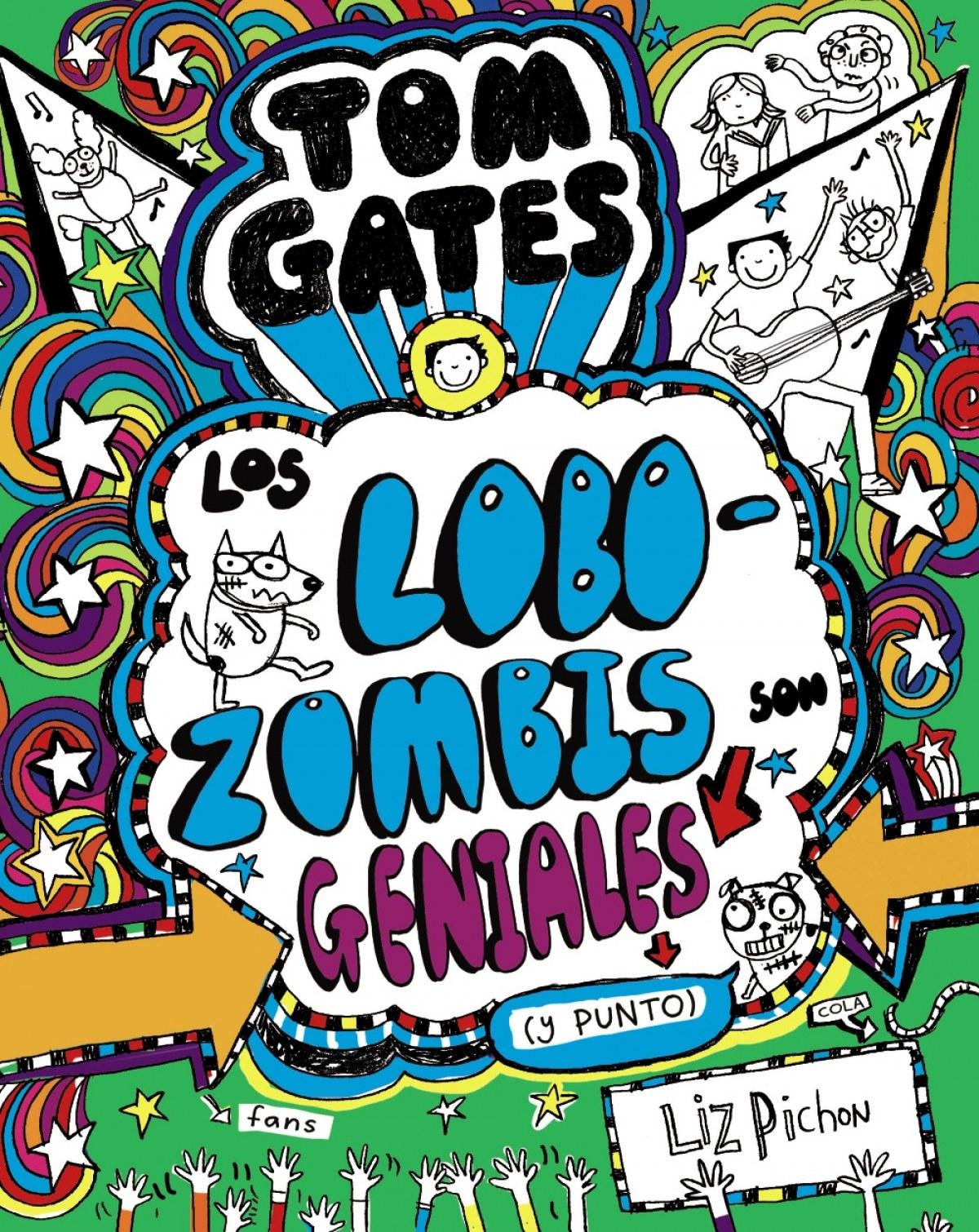 LOS LOBOZOMBIS SON GENIALES (Y PUNTO) 9788469621660